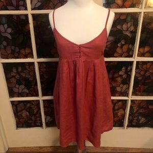 Old Navy Linen High Waisted Dress XS